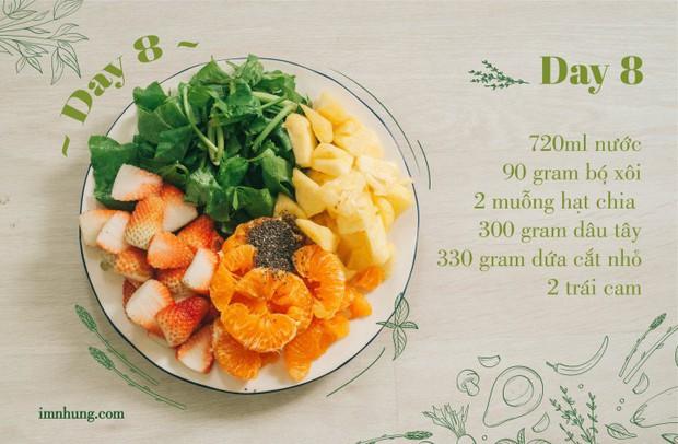 Nàng 9X chia sẻ kinh nghiệm xương máu khi uống rau-củ-quả để giảm 6kg trong 12 ngày - Ảnh 10.