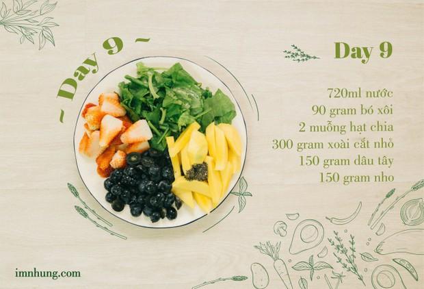Nàng 9X chia sẻ kinh nghiệm xương máu khi uống rau-củ-quả để giảm 6kg trong 12 ngày - Ảnh 11.