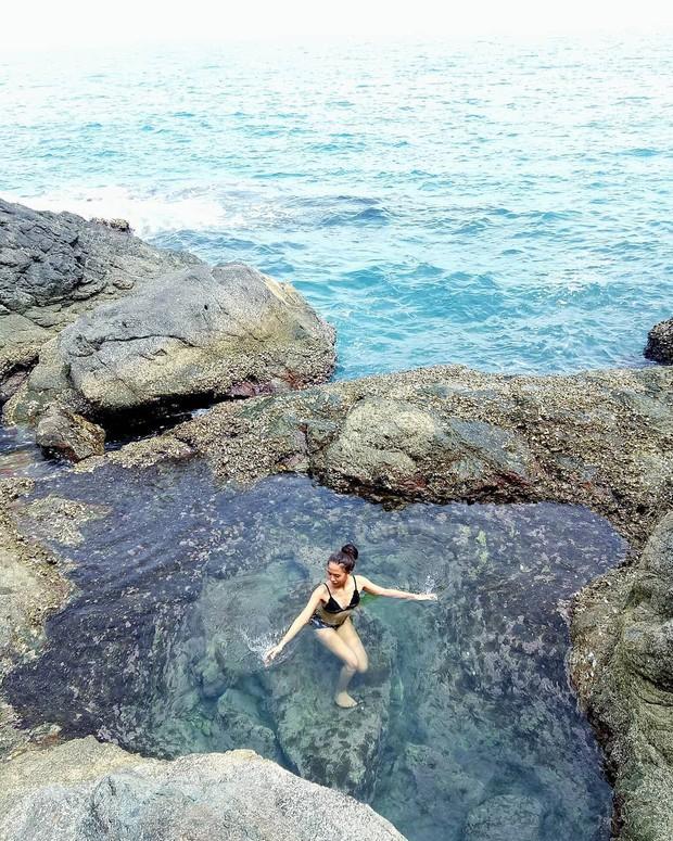 Đà Nẵng xuất hiện hồ bơi giữa biển đẹp y hệt nước ngoài, dân tình hớn hở rủ nhau đi sớm trước khi ai cũng biết chỗ này - Ảnh 11.