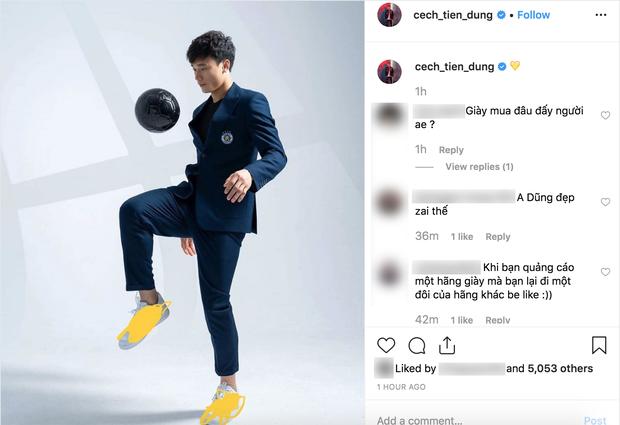 Làm KOL duyên như Bùi Tiến Dũng: đang hợp tác với adidas nhưng khoe ảnh đi Nike rồi xóa logo lem nhem - Ảnh 5.