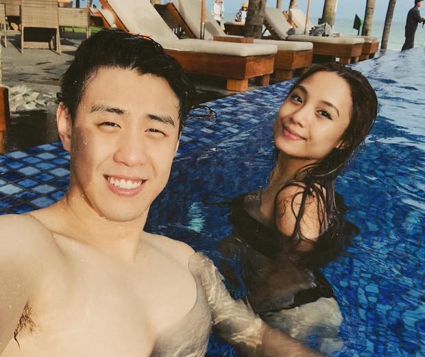 Huyme đăng ảnh thân mật với Miu Lê, bạn gái bình thản đáp lại bằng cả rổ khoảnh khắc diện bikini cực nóng bỏng - Ảnh 1.