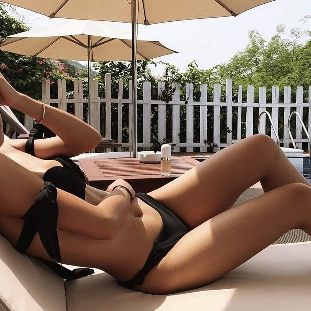 Huyme đăng ảnh thân mật với Miu Lê, bạn gái bình thản đáp lại bằng cả rổ khoảnh khắc diện bikini cực nóng bỏng - Ảnh 7.