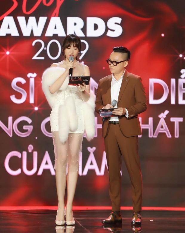 Động thái gây chú ý của Hari Won giữa lúc bị khán giả phản ứng vì vạ miệng đọc sai tên Châu Bùi tại lễ trao giải - Ảnh 3.