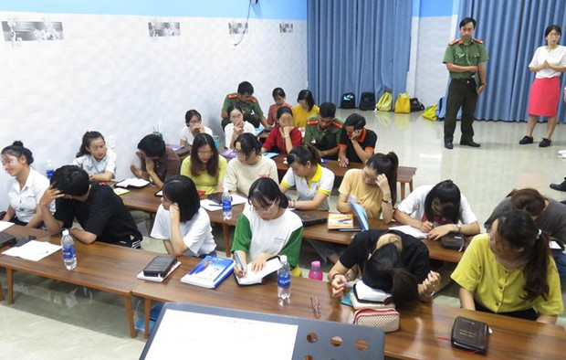 Phát hiện trung tâm ngoại ngữ truyền đạo Tân Thiên Địa trái phép ở Đà Nẵng - Ảnh 1.