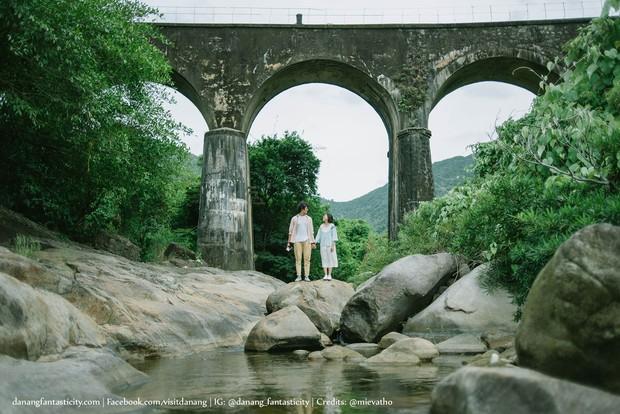 """Hot nhất Đà Nẵng hiện tại chính là """"cổng trời"""" mới toanh dưới chân đèo Hải Vân, nơi có đoàn tàu qua núi đẹp hệt trong phim - Ảnh 17."""