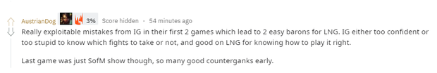 Fan quốc tế phấn khích sau chiến thắng trước IG của LNG Esports: Trận đấu này chẳng khác nào sân khấu của Sofm - Ảnh 2.