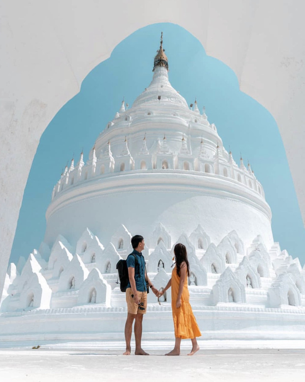 Ngỡ ngàng thấy dân du lịch check-in bước trên… sóng ở ngôi chùa trắng đẹp nhất nhì Đông Nam Á - Ảnh 11.