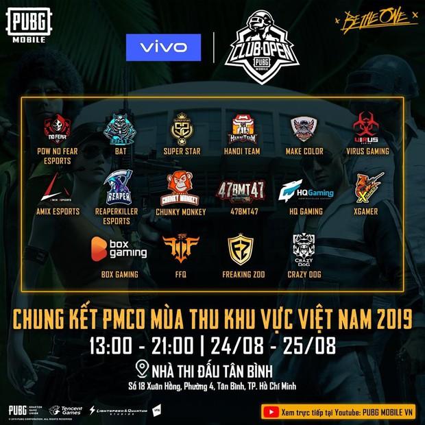 Giải đấu PUBG Mobile PMCO mùa Thu 2019 - Đâu là những cái tên được kì vọng nhiều nhất? - Ảnh 1.