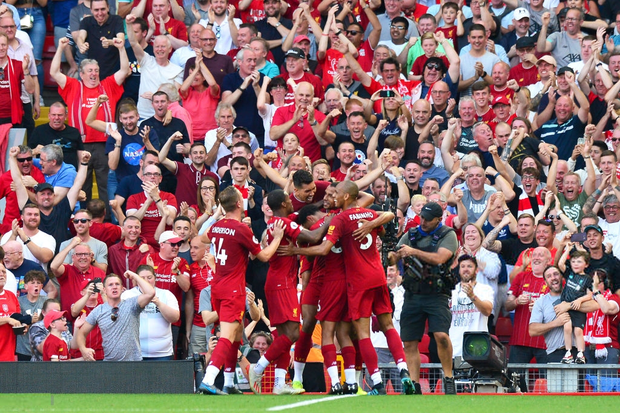 Vua Ai Cập Salah lập cú đúp, Liverpool thắng dễ Arsenal để độc chiếm ngôi đầu Ngoại hạng Anh - Ảnh 5.