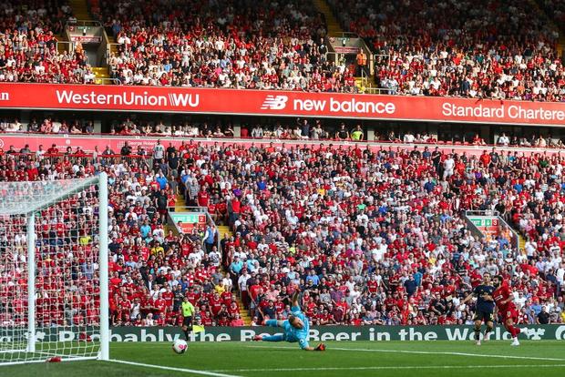 Vua Ai Cập Salah lập cú đúp, Liverpool thắng dễ Arsenal để độc chiếm ngôi đầu Ngoại hạng Anh - Ảnh 7.