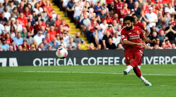 Vua Ai Cập Salah lập cú đúp, Liverpool thắng dễ Arsenal để độc chiếm ngôi đầu Ngoại hạng Anh - Ảnh 6.