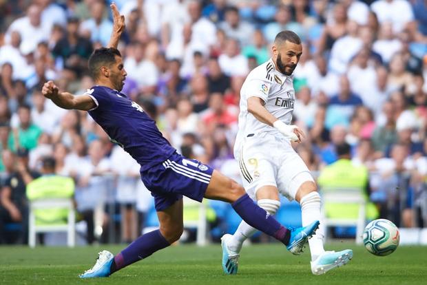 Benzema lập siêu phẩm, Real Madrid vẫn đánh rơi chiến thắng ở phút cuối - Ảnh 4.