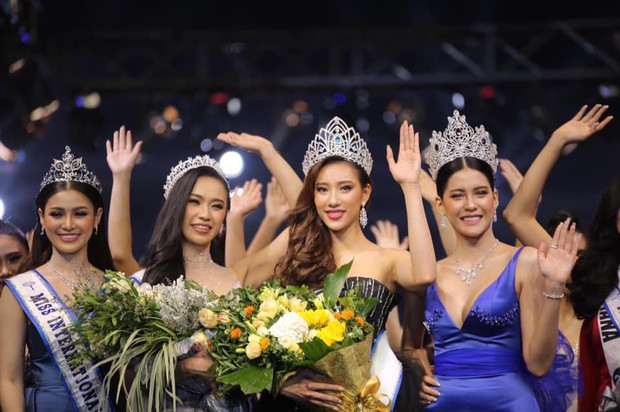 Mỹ nhân 9x vừa đăng quang Hoa hậu Hoàn vũ Lào: Xinh đẹp rụng rời, chiều cao khủng và nhiều điểm chung với Hoàng Thùy - Ảnh 2.
