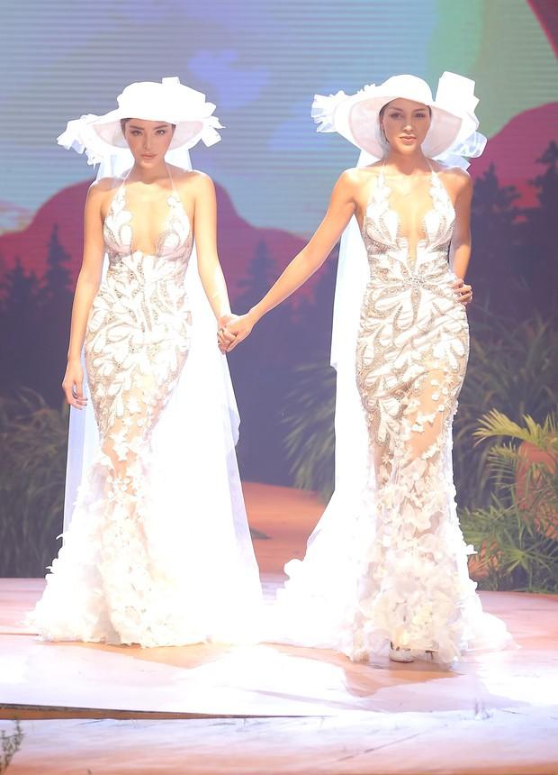 Kỳ Duyên - Minh Triệu nắm tay nhau mặc váy cưới, fan nhà quýt lại có dịp đẩy thuyền tới tận bến mới thôi - Ảnh 2.