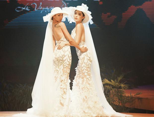 Kỳ Duyên - Minh Triệu nắm tay nhau mặc váy cưới, fan nhà quýt lại có dịp đẩy thuyền tới tận bến mới thôi - Ảnh 4.