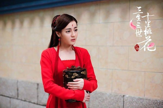 5 mỹ nhân cổ trang diện đồ đỏ đẹp chết người: Dương Mịch và Địch Lệ Nhiệt Ba kẻ tám lạng người nửa cân! - Ảnh 1.