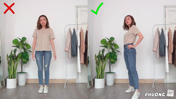 Chẳng phải fashionista nhưng cô nàng này vẫn có 8 cách mix đồ giúp các nàng kéo chân - bóp eo cực đỉnh - Ảnh 4.