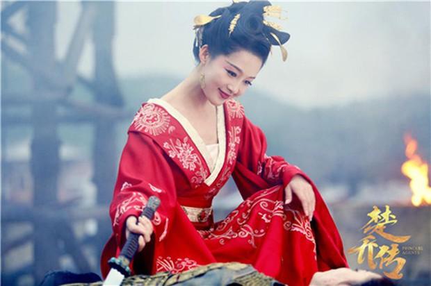 5 mỹ nhân cổ trang diện đồ đỏ đẹp chết người: Dương Mịch và Địch Lệ Nhiệt Ba kẻ tám lạng người nửa cân! - Ảnh 20.