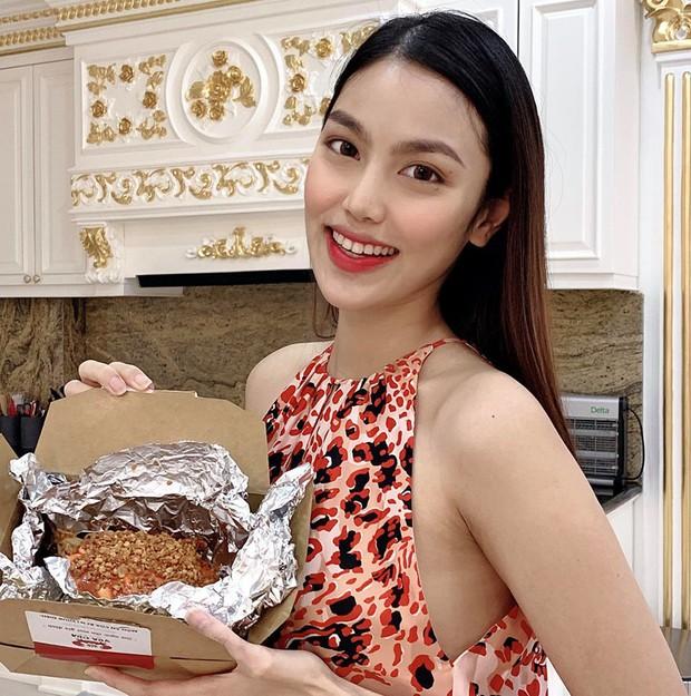 Mang bầu tháng thứ 6, Lan Khuê tiết lộ bí kíp trang điểm giúp cô luôn trẻ xinh nhờ phấn má hồng - Ảnh 6.