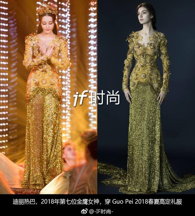 Không hề là dạng vừa, Địch Lệ Nhiệt Ba nhiều lần mặc đẹp ngang ngửa thậm chí lấn át người mẫu - Ảnh 2.