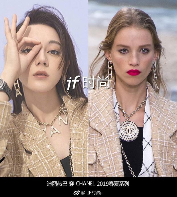Không hề là dạng vừa, Địch Lệ Nhiệt Ba nhiều lần mặc đẹp ngang ngửa thậm chí lấn át người mẫu - Ảnh 3.
