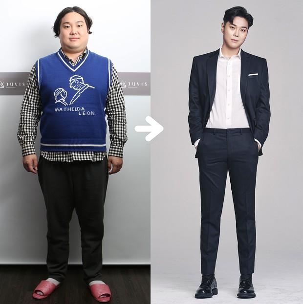 Màn giảm cân lột xác ngoạn mục nhất lịch sử Kbiz: Anh chàng béo phì hóa nam thần, trẻ hơn chục tuổi sau khi sụt 32kg - Ảnh 2.