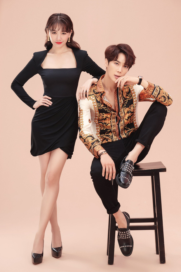 Hari Won ôm ấp trai đẹp Park Jung Min của SS501 cự ly cực gần, netizen hồi hộp theo dõi phản ứng của Trấn Thành - Ảnh 4.