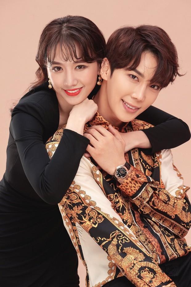 Hari Won ôm ấp trai đẹp Park Jung Min của SS501 cự ly cực gần, netizen hồi hộp theo dõi phản ứng của Trấn Thành - Ảnh 3.