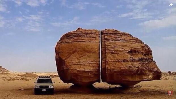 Một trong những bí ẩn lớn nhất của nhân loại: Vết cắt chia đôi khối đá nhẵn nhụi đến khó tin, muốn tới khám phá lại càng khó hơn - Ảnh 5.
