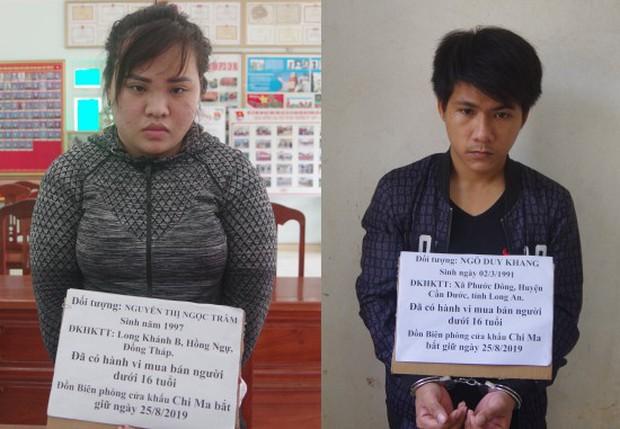 Hai đối tượng mua bán trẻ sơ sinh tìm cách vượt biên sang Trung Quốc - Ảnh 1.
