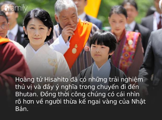 Khác hẳn với vẻ chững chạc thường ngày, Hoàng tử nhỏ Nhật Bản gây sốt cộng đồng mạng với hình ảnh mới lạ ở Bhutan - Ảnh 4.