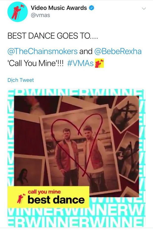 Từ Ariana Grande, Billie Eilish đến BTS lập hội anh chị em ngồi nhà xem TV nhưng vẫn có cúp VMAs 2019 mang về - Ảnh 7.