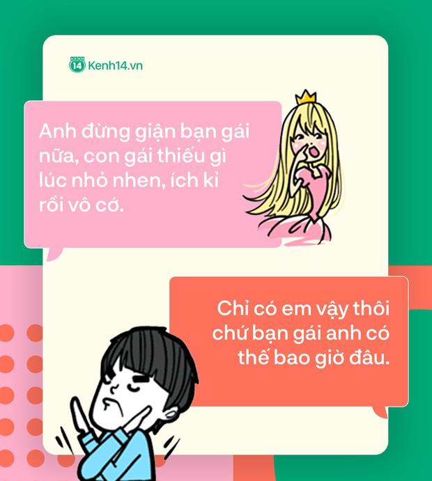 Đọc tin nhắn bạn trai cà khịa mấy cô em gái mưa thích diễn sâu: Dừa lắm, hả hê lắm! - Ảnh 13.