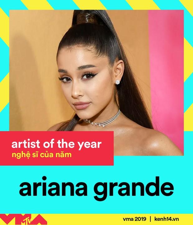 Kết quả MTV VMAs 2019: Ariana Grande ở nhà chơi với cún vẫn thắng 3 giải, Taylor Swift lập nên kỳ tích thập kỷ - Ảnh 8.