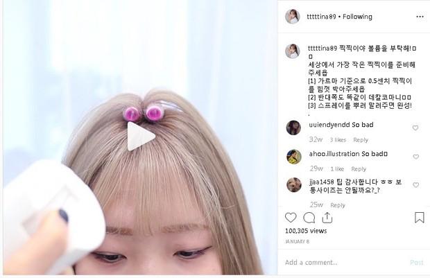 """Chuyên gia hướng dẫn gái Hàn làm phồng tóc nhưng lại bị dân tình chê tơi tả vì """"xấu hơn không làm"""" - Ảnh 4."""