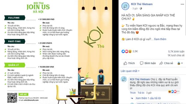 """Sau khi Phúc Long gây sốt ở Hà Nội, đến lượt trà sữa KOI Thé """"cập bến"""", liệu sức hút sẽ đến đâu? - Ảnh 1."""