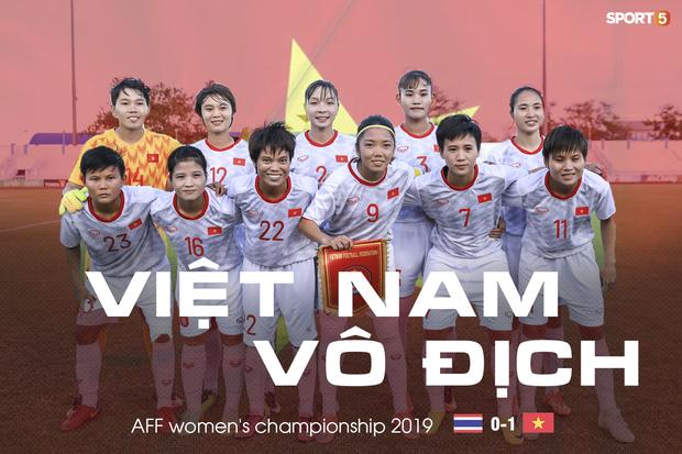 Đội trưởng cởi áo ăn mừng và nhận thẻ đỏ trong ngày tuyển nữ Việt Nam đánh bại Thái Lan, đoạt ngôi vô địch Đông Nam Á - Ảnh 1.