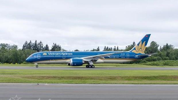 Siêu tàu bay Boeing 787 của Vietnam Airlines bị xe thang đâm thủng - Ảnh 1.