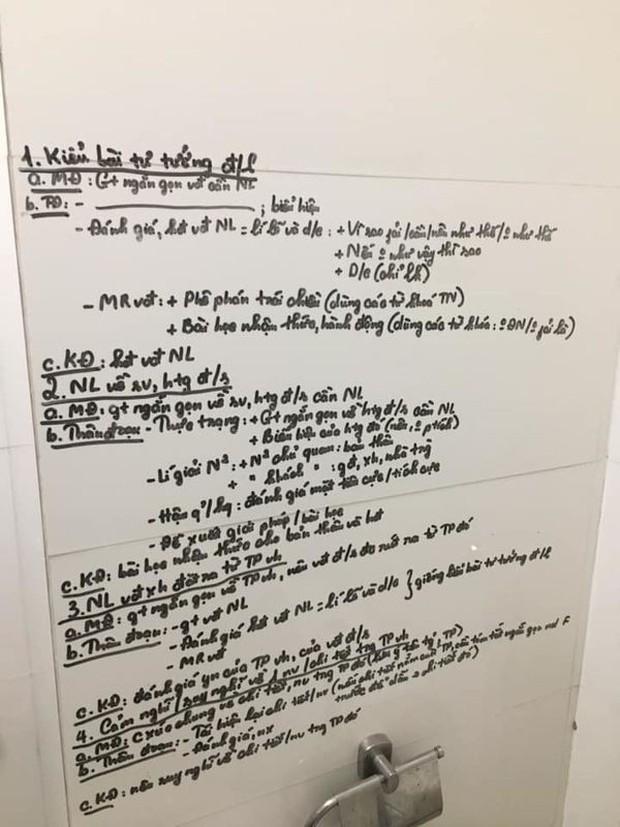 Khi bạn có chuyện phải giải quyết mà vẫn muốn kiểm tra điểm cao, học ngay cách ôn bài trong nhà vệ sinh cực bá đạo này - Ảnh 2.