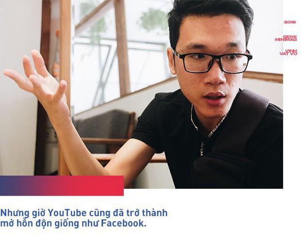 Vlogger Vinh Vật Vờ chia sẻ về lý do không dùng Facebook, mong muốn có mạng xã hội mới quan tâm đến người làm nội dung hơn - Ảnh 4.