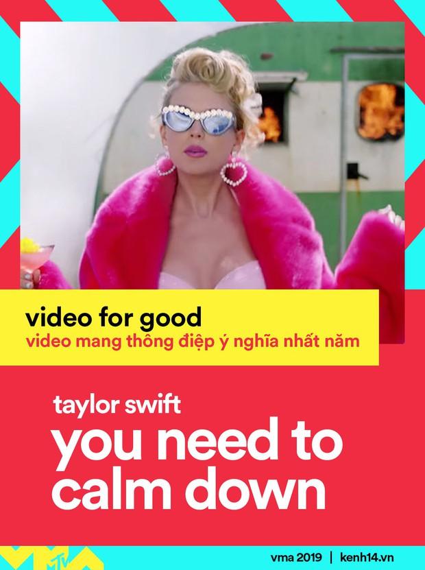 Kết quả MTV VMAs 2019: Ariana Grande ở nhà chơi với cún vẫn thắng 3 giải, Taylor Swift lập nên kỳ tích thập kỷ - Ảnh 6.