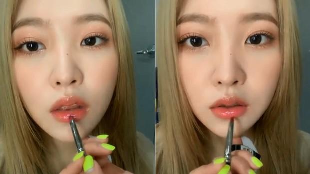 Chỉ vài giây đánh son bóng xinh xuất sắc, thành viên kém sắc nhất Red Velvet khiến cả Instagram đổ xô hỏi mã màu son - Ảnh 3.