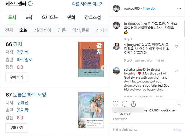 Loạt bài đăng mới chứng tỏ dấu hiệu đáng mừng cho Goo Hye Sun: Ly hôn xong, không thất nghiệp được đâu! - Ảnh 1.