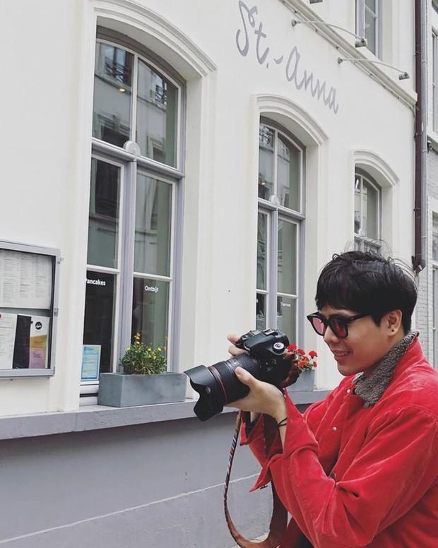 Trịnh Thăng Bình diện đồ đôi, bí mật hẹn hò Liz Kim Cương trong chuyến du lịch Châu Âu? - Ảnh 2.