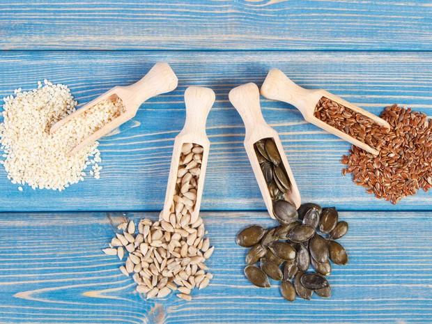 Seed Cycling: phương pháp loại bỏ sạch mụn khi ăn các loại hạt theo chu kì kinh nguyệt - Ảnh 3.