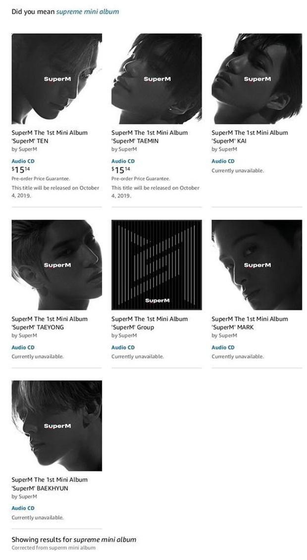 Dù chỉ mới tung hình teaser, SuperM đã khiến fan thiếu nghị lực toàn tập, tranh đấu doanh số album vì ai cũng đẹp trai! - Ảnh 3.