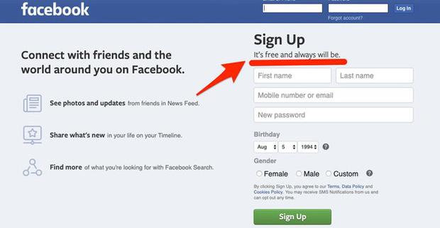 Vào mà xem Facebook bí mật đổi slogan từ lúc nào, phải chăng vì sợ dính phốt mới? - Ảnh 1.