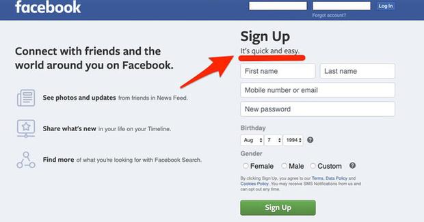 Vào mà xem Facebook bí mật đổi slogan từ lúc nào, phải chăng vì sợ dính phốt mới? - Ảnh 2.