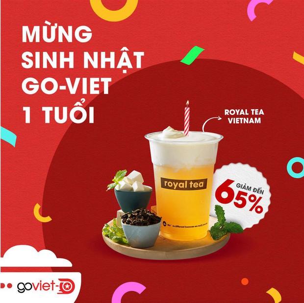 Một loạt các thương hiệu trà sữa đình đám đang đồng loạt giảm giá tận 65% mừng GoViet sinh nhật 1 tuổi - Ảnh 9.