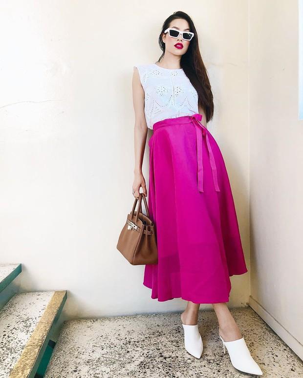 Nhìn phong độ thời trang trồi sụt của Phạm Hương để thấy: Đồ màu trung tính sang chảnh hóa style đỉnh thế nào - Ảnh 7.